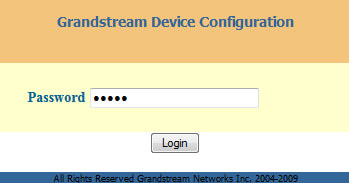 grandstream-ip-password